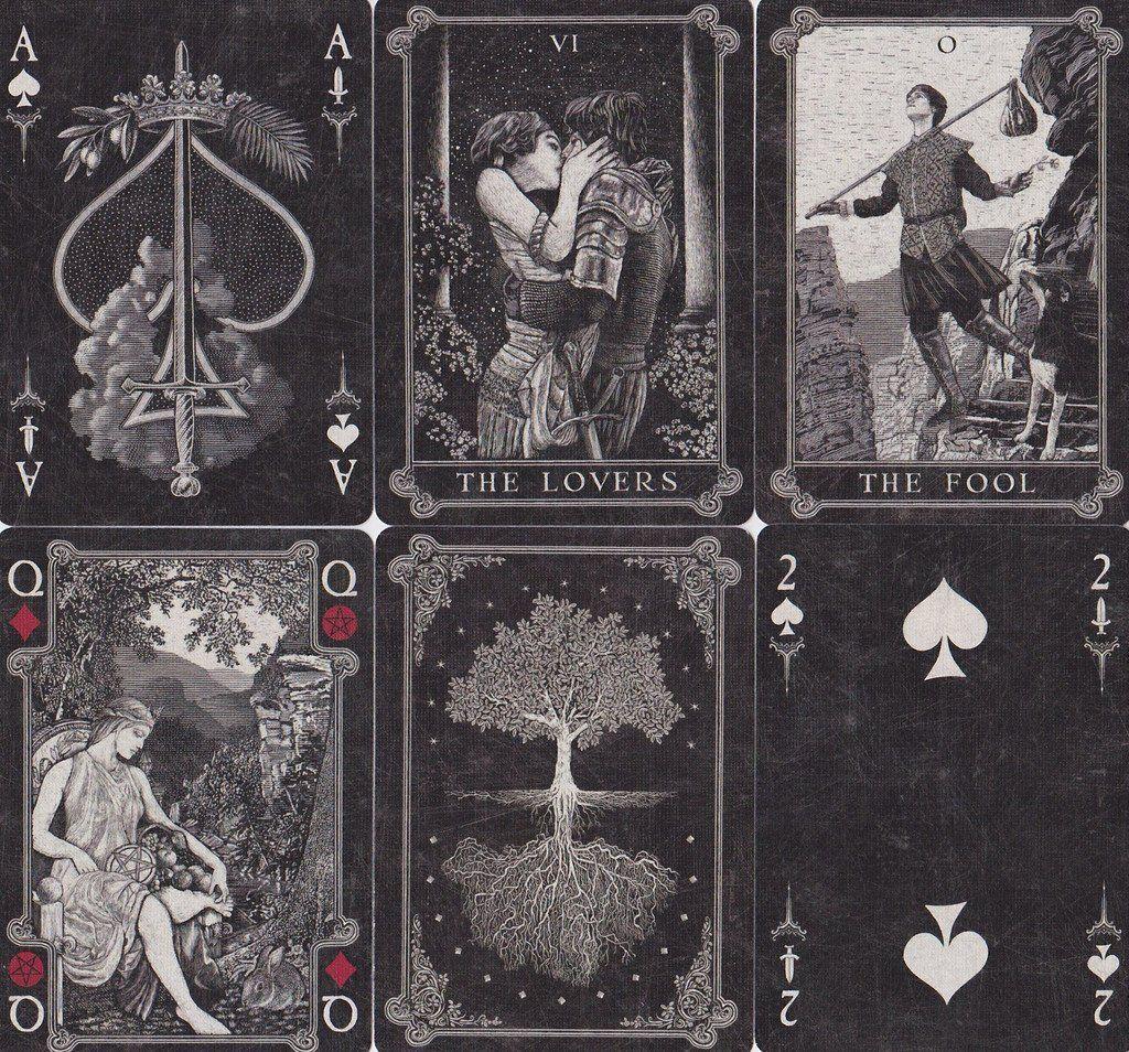dark tarot card combinations