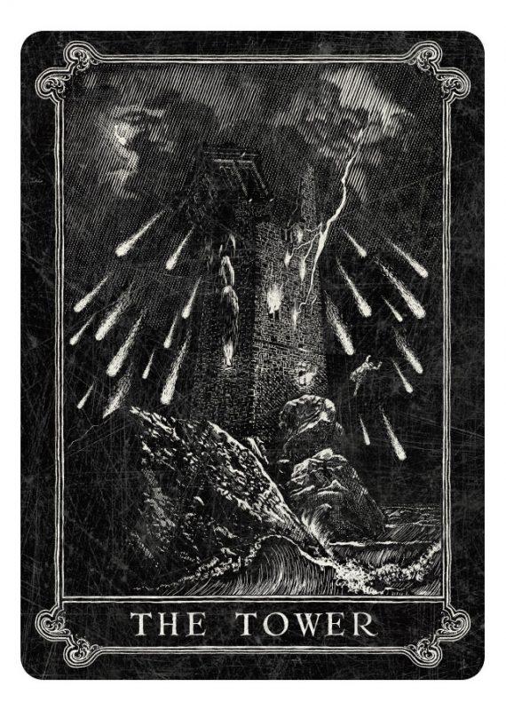 darkest tarot card combinations